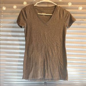 Mossimo grey v-neck size XS only worn once.